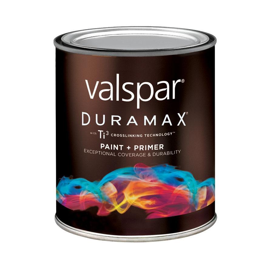 Shop Valspar Duramax Yellow Base Satin Latex Exterior Paint Actual Net Contents 29 Fl Oz At