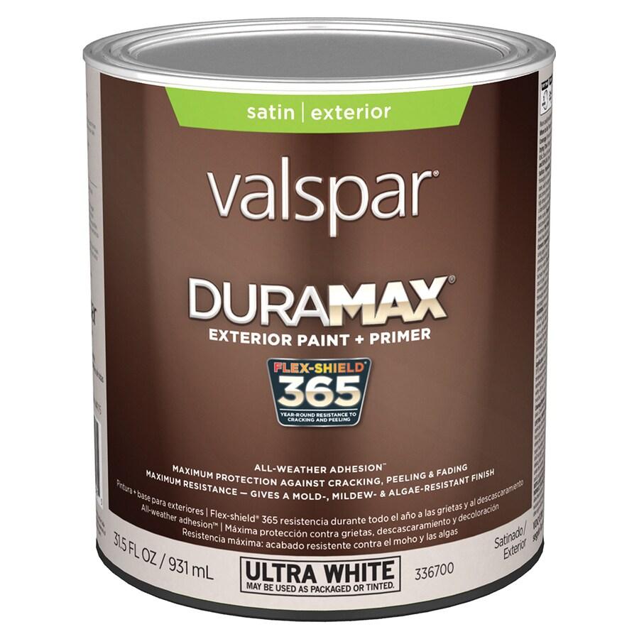 Valspar Duramax Duramax Satin Exterior Paint (Actual Net Contents: 31.5-fl oz)