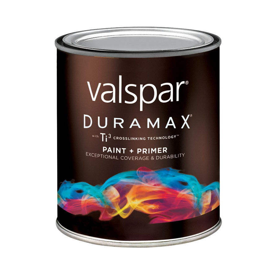 Shop Valspar Duramax Duramax Red Semi Gloss Latex Exterior Paint Actual Net Contents 29 Fl Oz