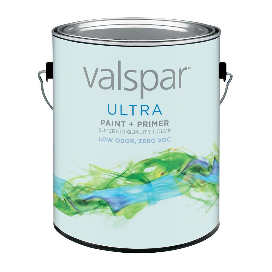 Valspar Gallon Size Container Interior Semi-Gloss White Latex-Base Paint and Primer in One (Actual Net Contents: 128-fl oz)