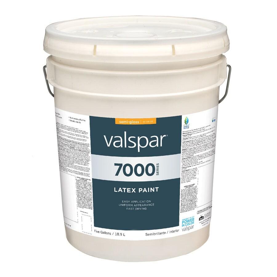 Valspar Antique White Semi-Gloss Latex Interior Paint (Actual Net Contents: 640-fl oz)