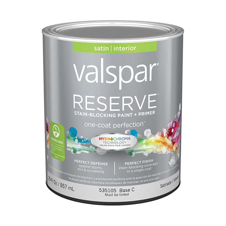 Valspar Reserve Satin Latex Interior Paint and Primer in One (Actual Net Contents: 29-fl oz)