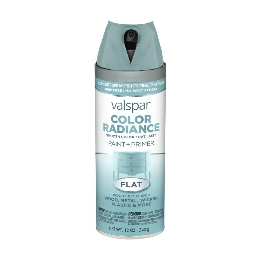Valspar Color Radiance Silver Fox Fade Resistant Enamel Spray Paint (Actual Net Contents: 12-oz)