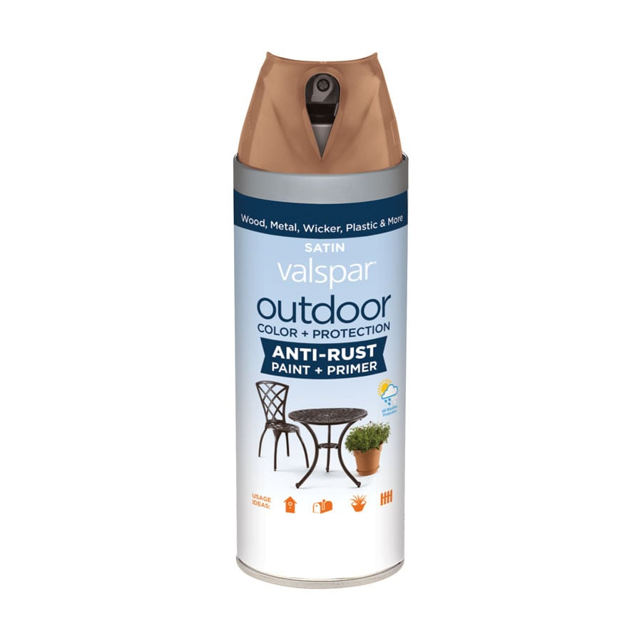 Valspar Outdoor Terracotta Trail Fade Resistant Enamel Spray Paint (Actual Net Contents: 12-oz)