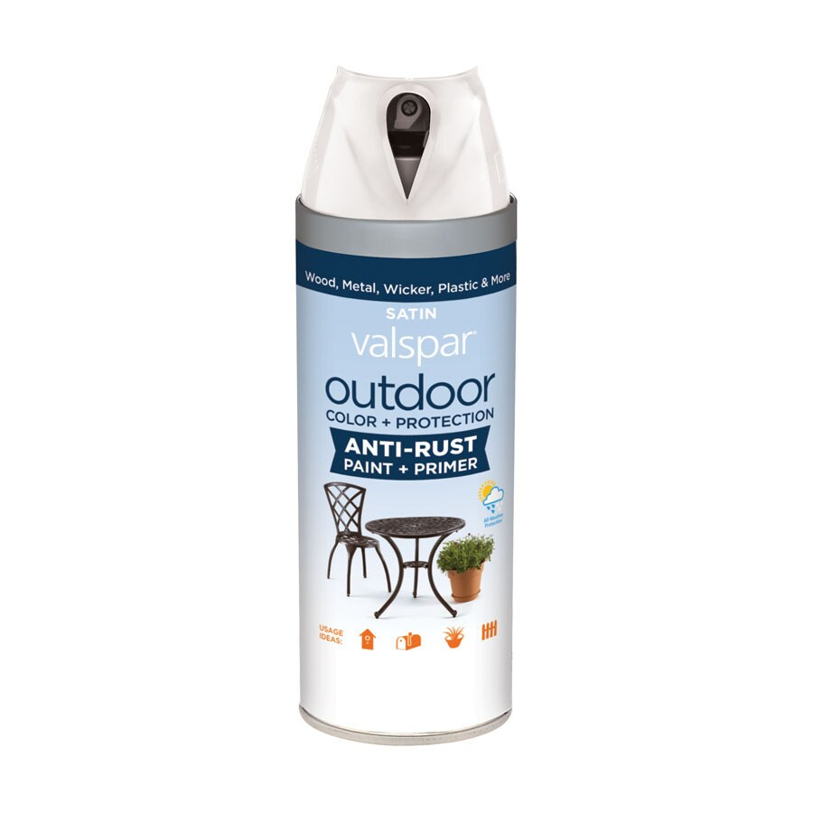 Valspar Outdoor Morning Mist Fade Resistant Enamel Spray Paint (Actual Net Contents: 12-oz)