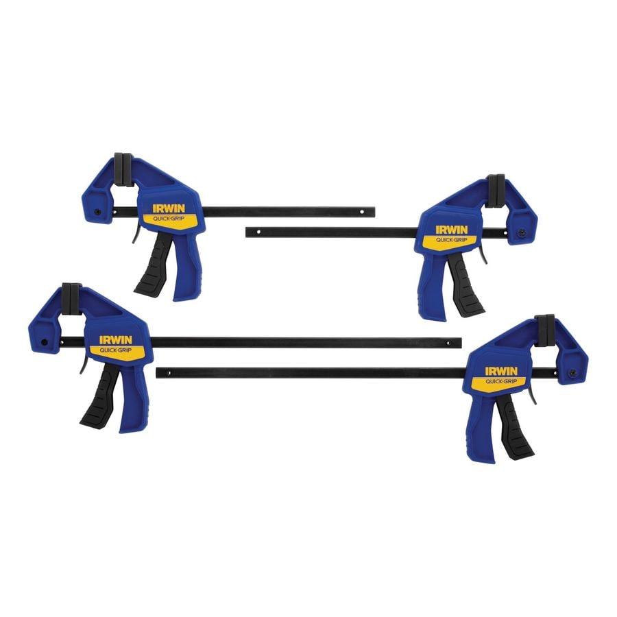 IRWIN 4-Piece Mini Clamp Set