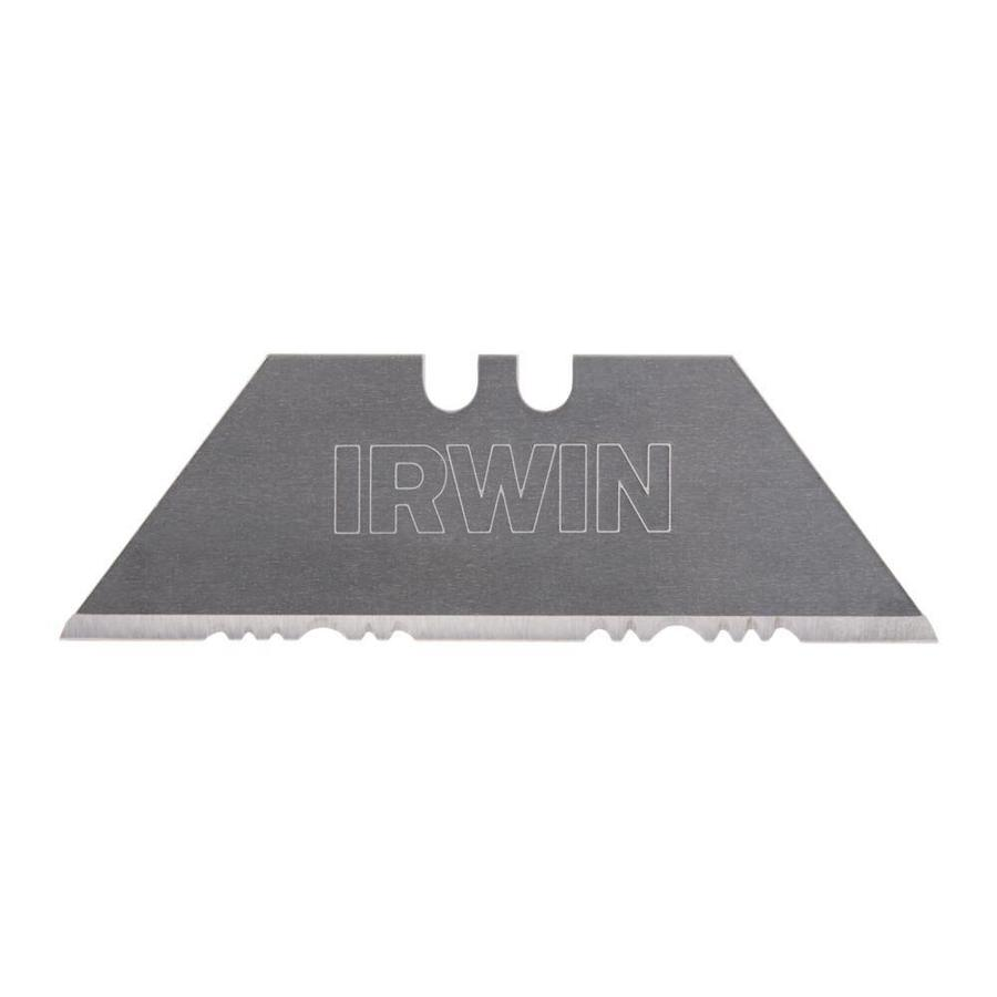 IRWIN 5-Pack 2.44-in Carbon Steel Serrated Utility Replacement Utility Blades