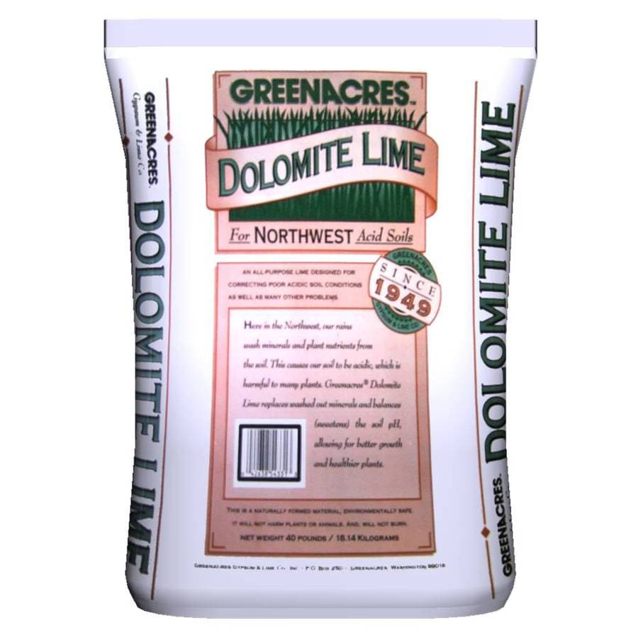 GREENACRES 2,000-sq ft Dolomite Lime Organic or Natural Lawn Fertilizer