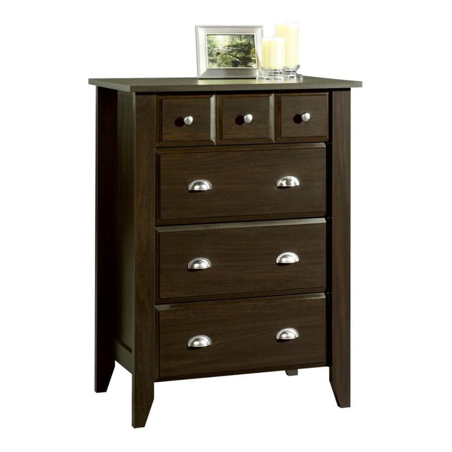 Sauder Shoal Creek Jamocha Wood Standard Chest
