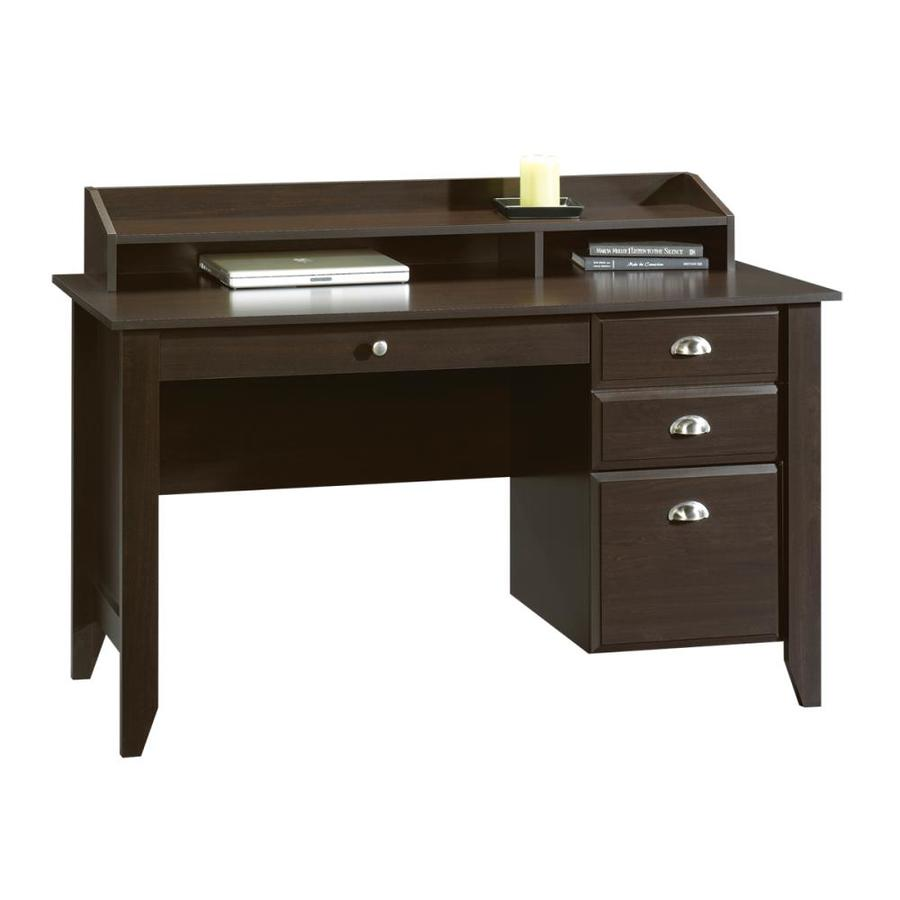 Shop Sauder Shoal Creek Jamocha Wood Laptop Desk At Lowes Com