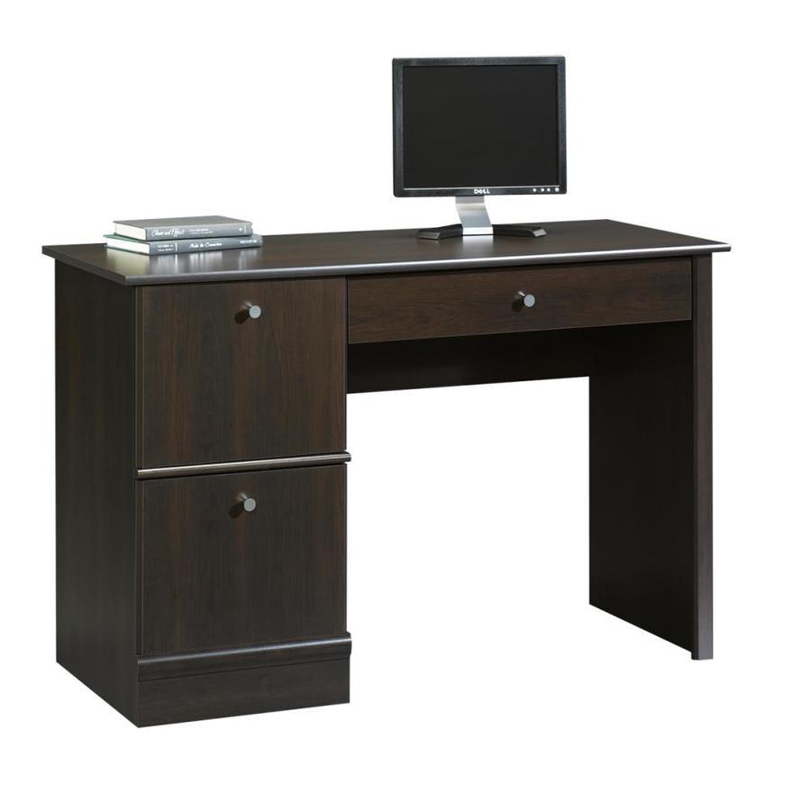 Shop Sauder Cinnamon Cherry Computer Desk At Lowes Com