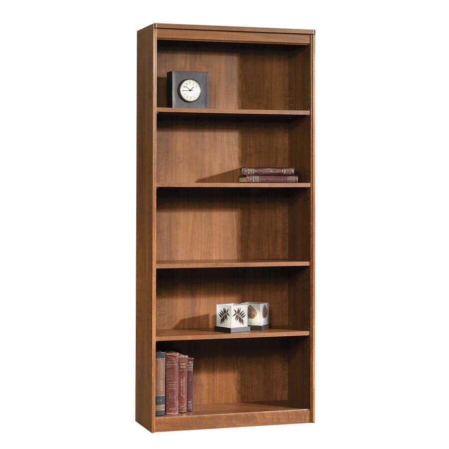 Sauder Camber Hill Sand Pear 71.875-in 5-Shelf Bookcase