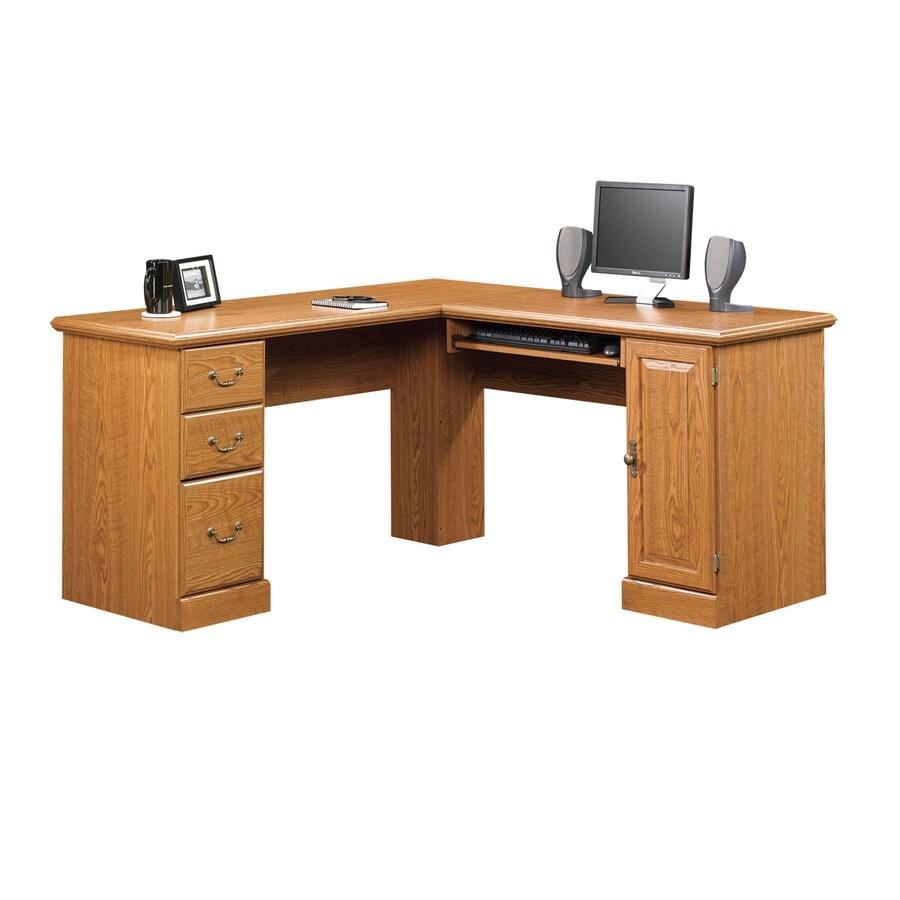 Shop Sauder Orchard Hills Carolina Oak Computer Desk At