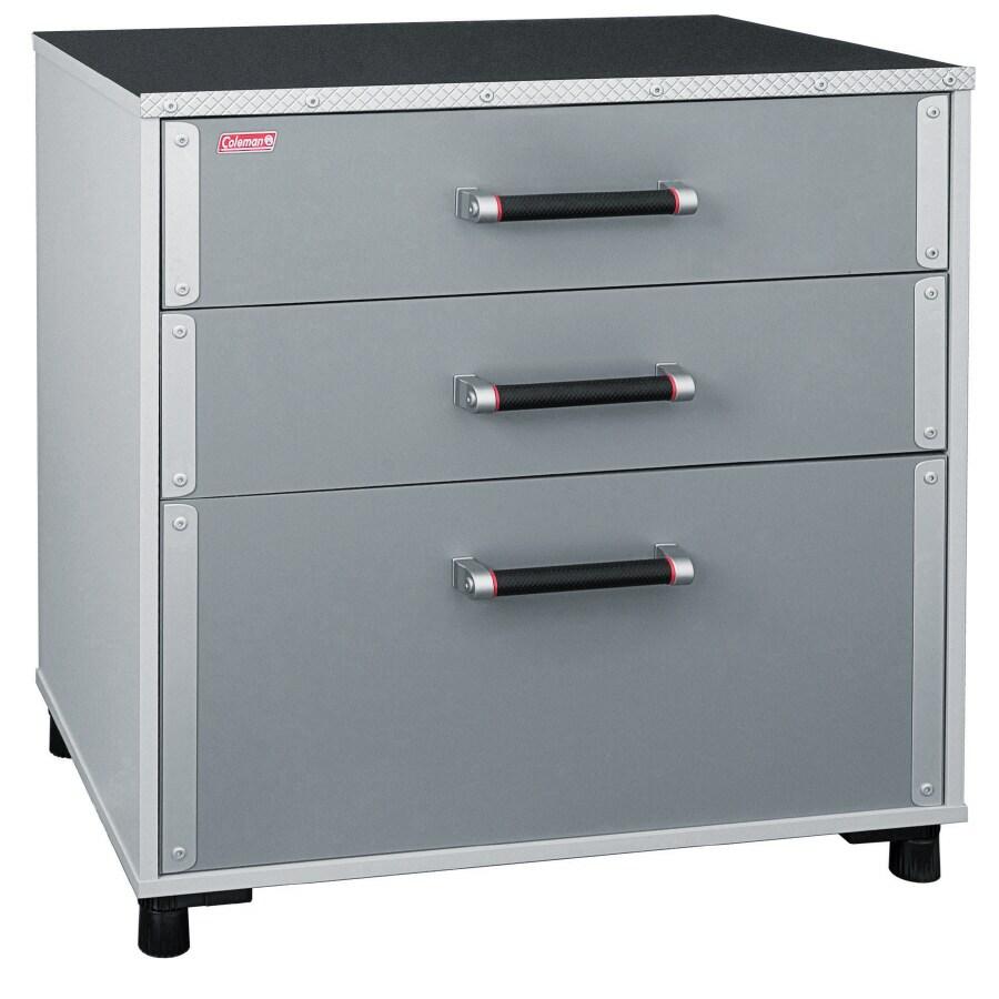 Sauder 31.125-in W x 33.625-in H x 19.625-in D Wood Composite Garage Cabinet