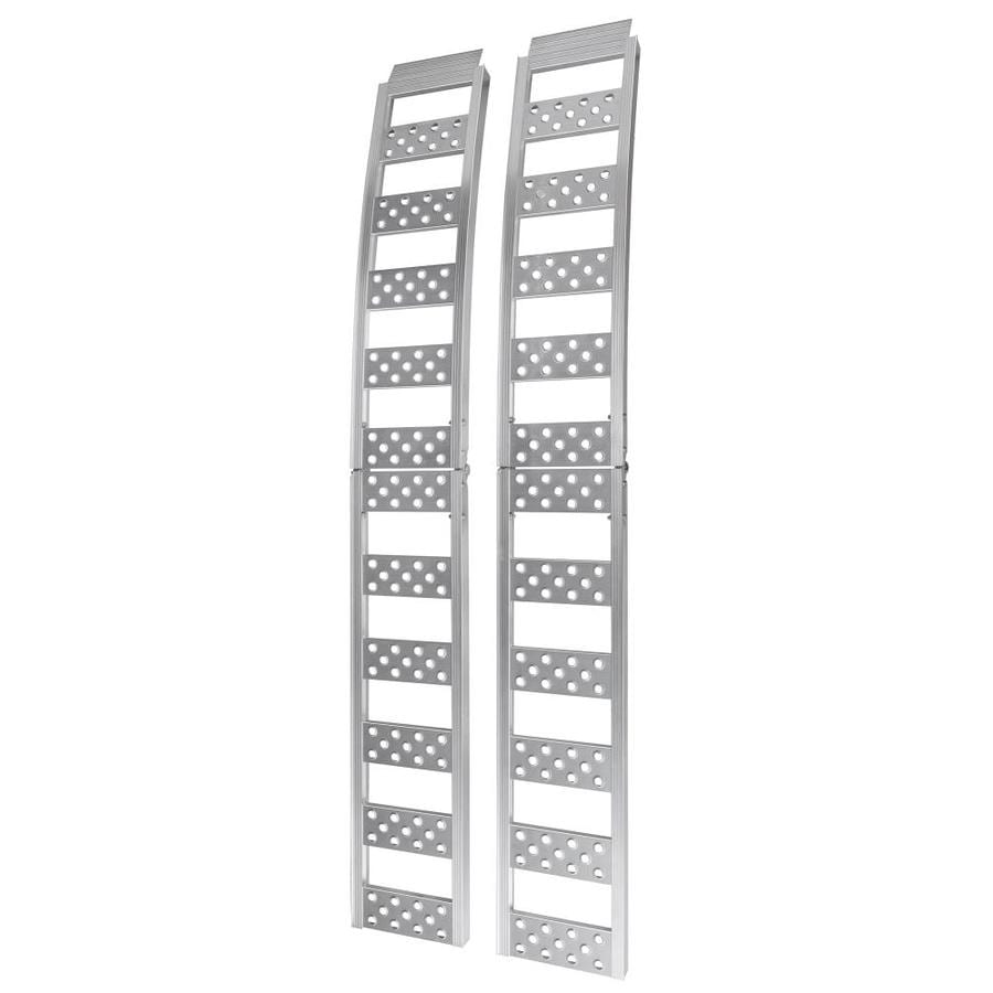 Reese 1-ft x 7.5-ft 1500lb Capacity Arched Folding Aluminum Loading Ramp