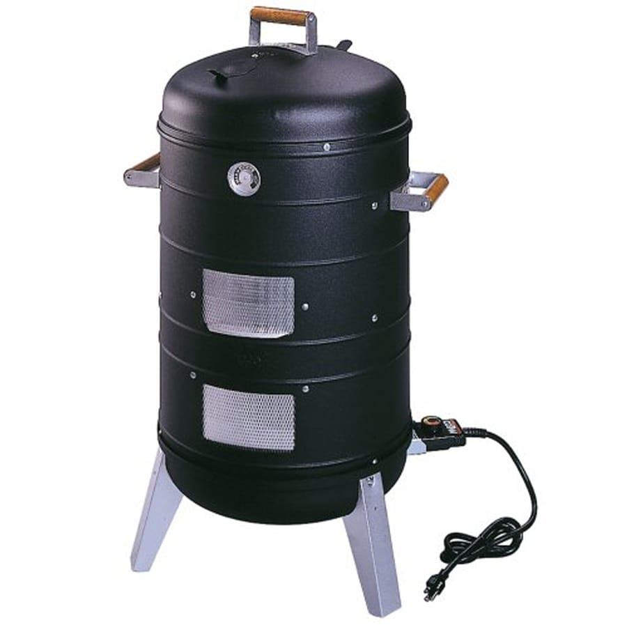 Southern Country 1500-Watt Satin Black Electric Vertical Smoker (Common: 37-in; Actual: 18.5-in)