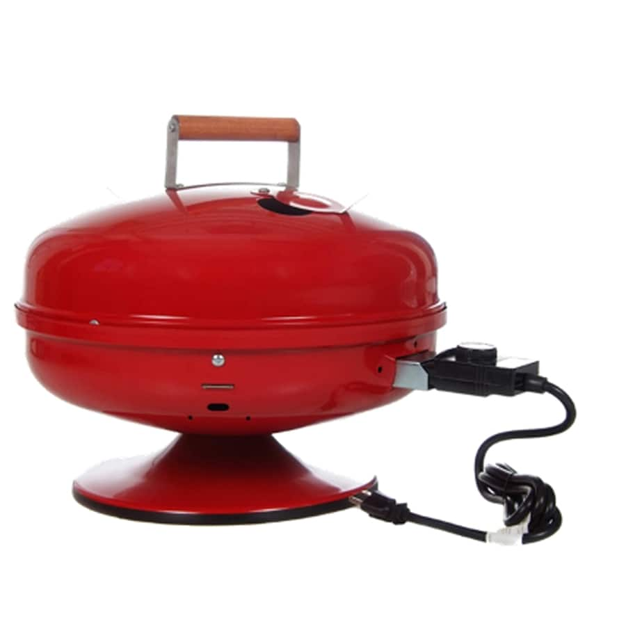 Easy Street 1,500-Watt Red Electric Grill