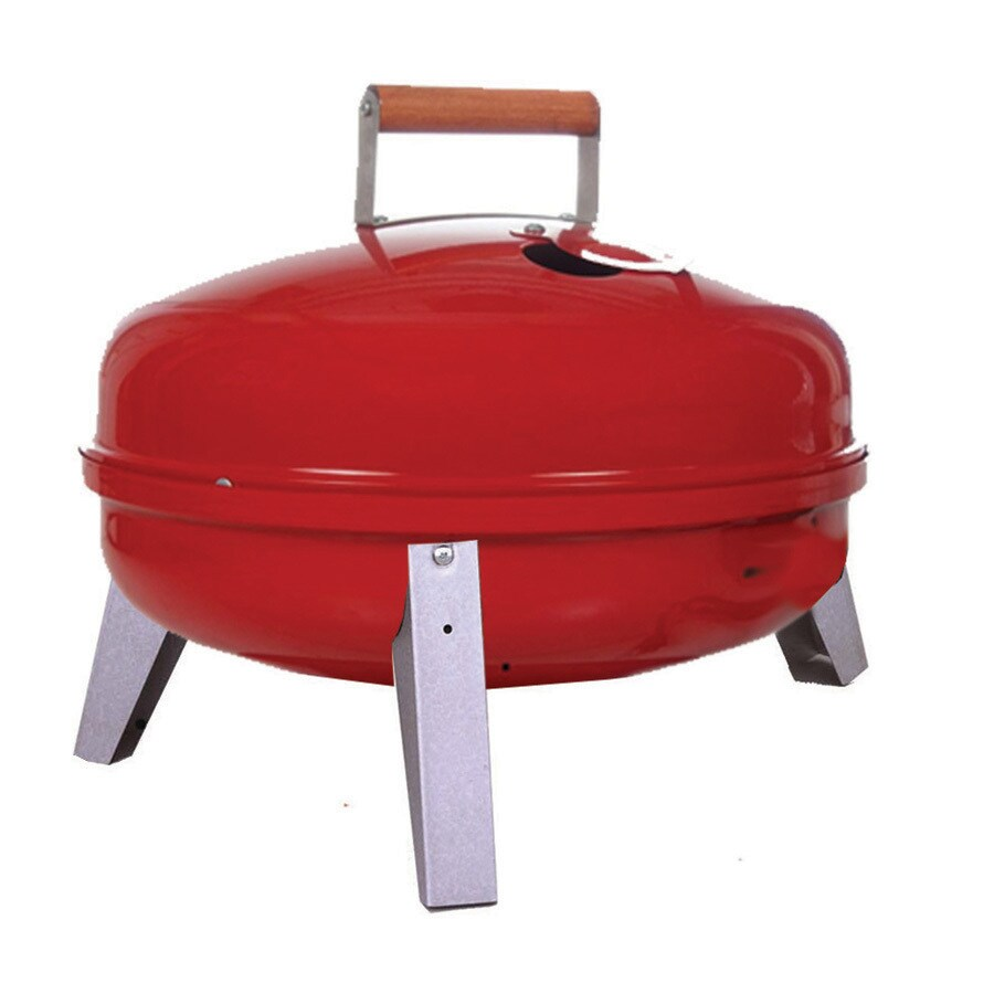 Americana 16.75-in Red Charcoal Grill