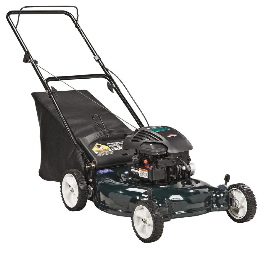 Bolens 158-cc 21-in 2 in 1 Gas Push Lawn Mower with Briggs & Stratton Engine