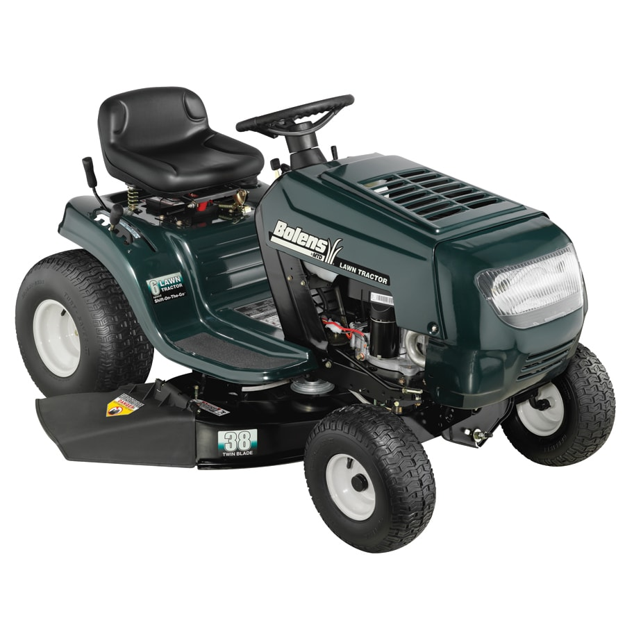 Bolens 13.5 HP Manual 38-in Riding Lawn Mower with Briggs & Stratton Engine (CARB)