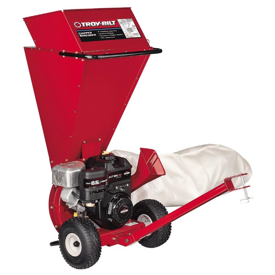 Troy-Bilt 205-cc Gas Chipper Shredder