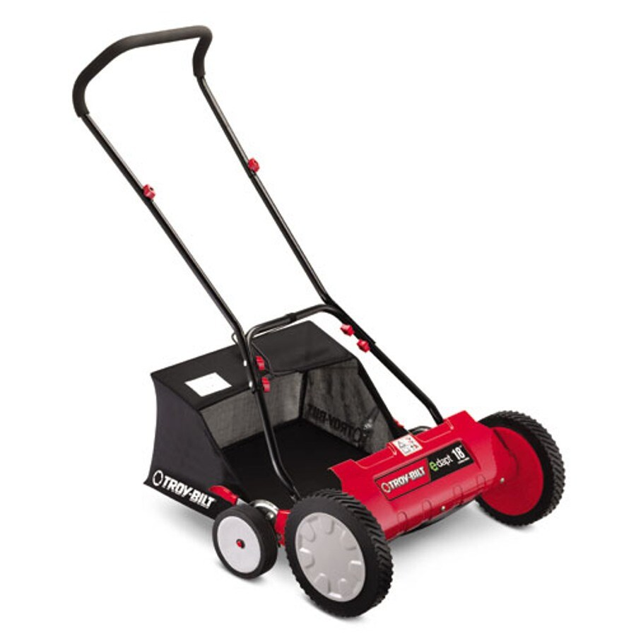 Troy-Bilt 18-in Reel Lawn Mower