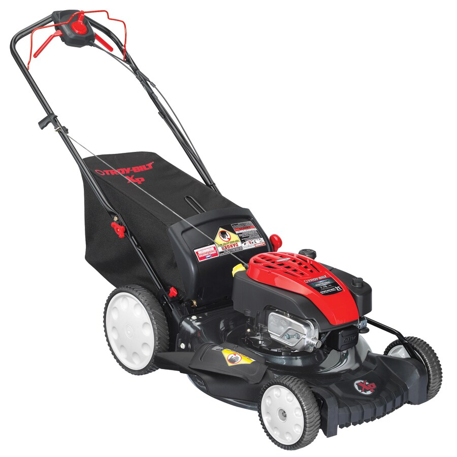 Troy-Bilt 175-cc 21-in Self-Propelled Rear Wheel Drive 3 in 1 Gas Push Lawn Mower with Briggs & Stratton Engine