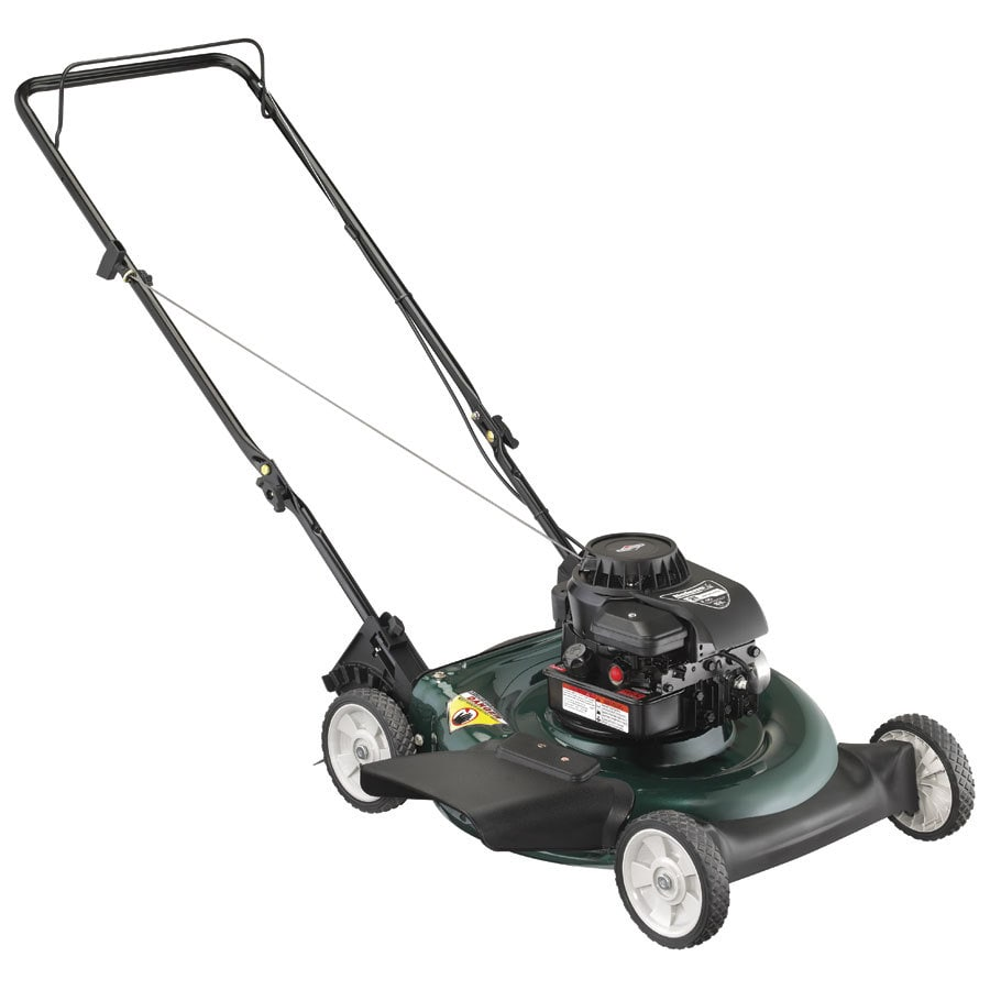Bolens 158-cc 21-in Side Discharge Gas Push Lawn Mower with Briggs & Stratton Engine