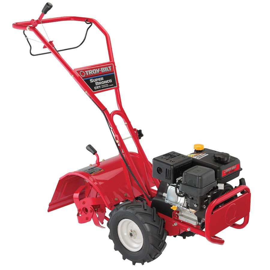Troy-Bilt Super Bronco 205cc 16-in Rear-Tine Tiller (CARB)