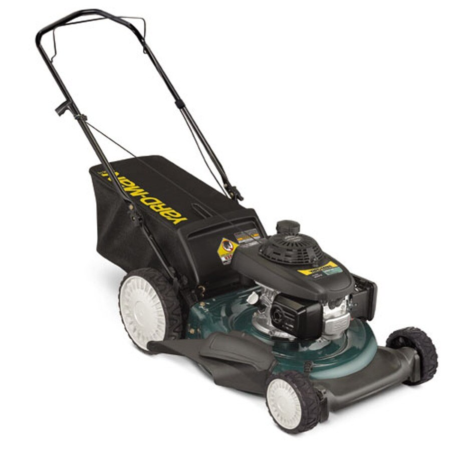 Yard-Man Select Series 160-cc 21-in 3-in-1 Gas Push Lawn Mower with Mulching Capability