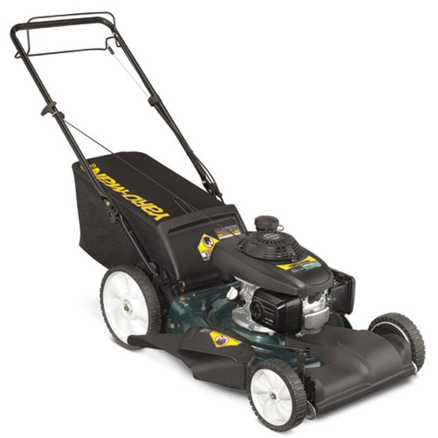 Yard-Man 160-cc 21-in Self-Propelled Front Wheel Drive 3 in 1 Gas Push Lawn Mower with Honda Engine