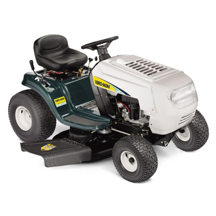 Yard-Man 18.5-HP Manual 42-in Riding Lawn Mower