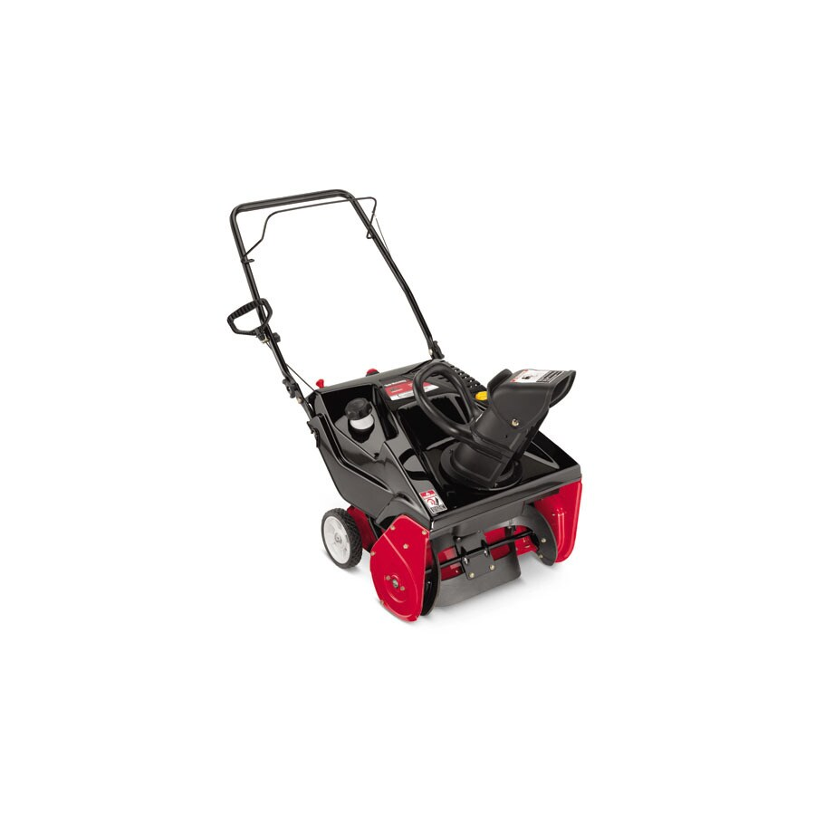 Yard Machines 179-cc 21-in Single-Stage Electric Start Gas Snow Blower