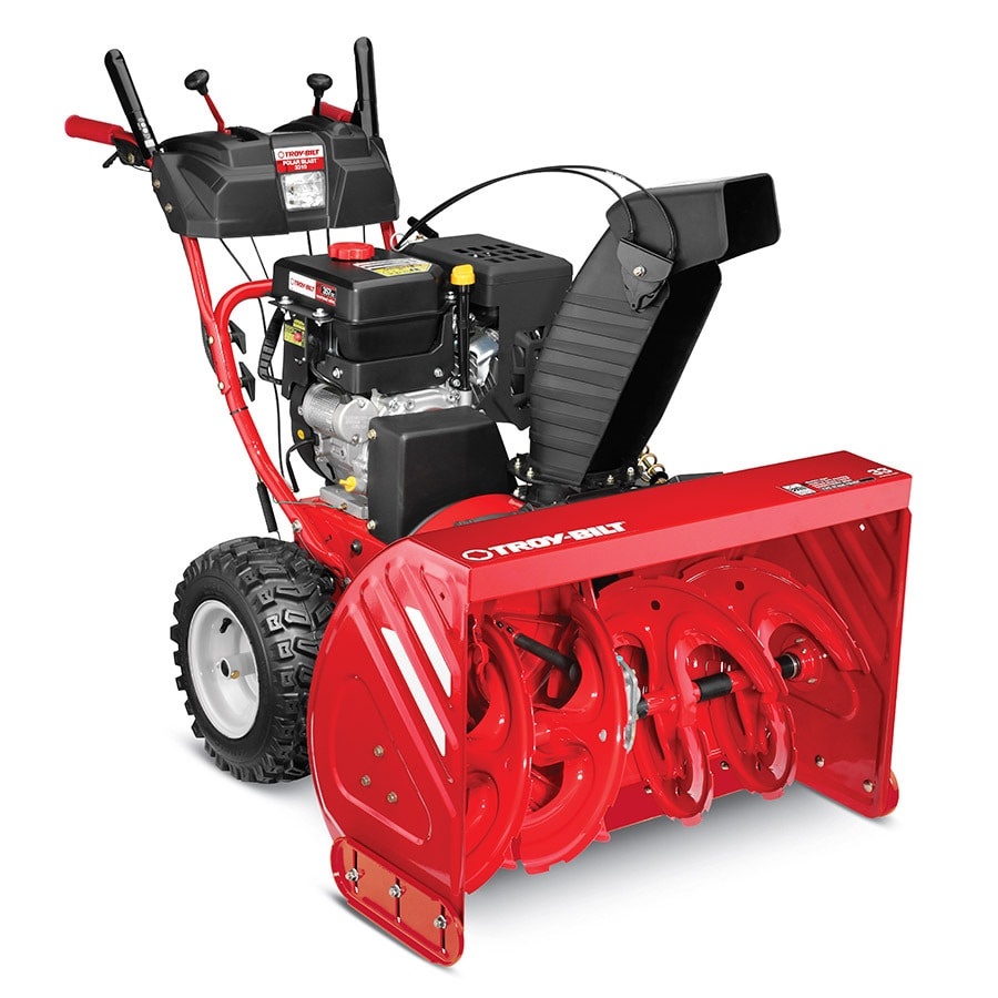 Troy-Bilt Polar Blast 3310 357cc 33-in Two-Stage Electric Start Gas Snow Blower with Heated Handles and Headlights
