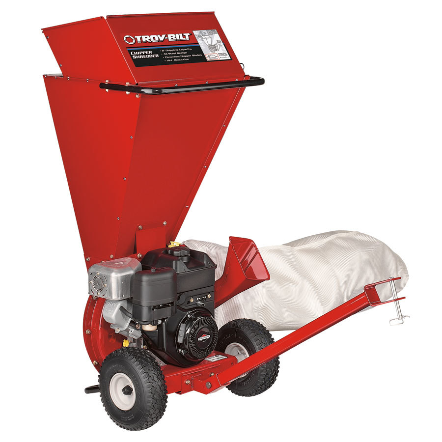 Troy-Bilt 205cc Steel Gas Wood Chipper