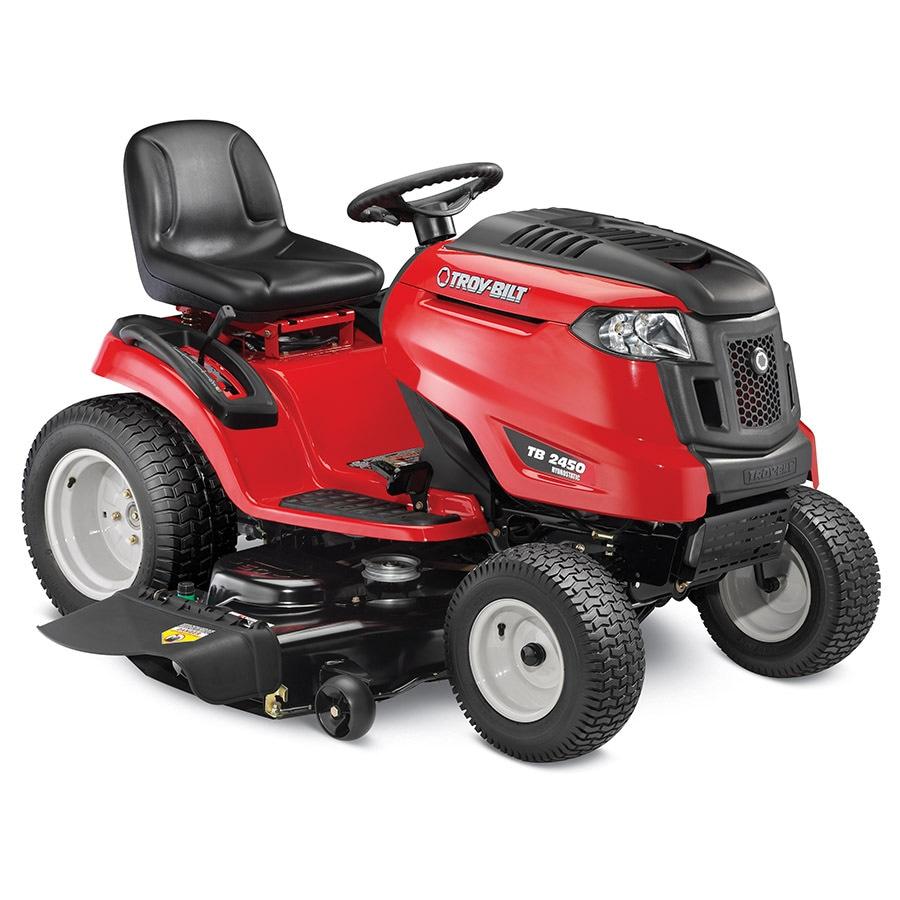 Troy-Bilt TB2450 24-HP V-Twin Hydrostatic 50-in Riding Lawn Mower
