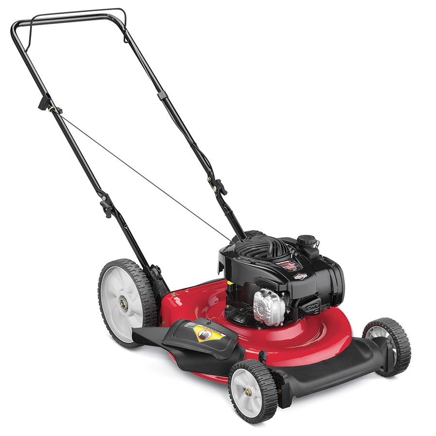 Yard Machines 125-cc 21-in 2-in-1 Gas Push Lawn Mower with Mulching Capability