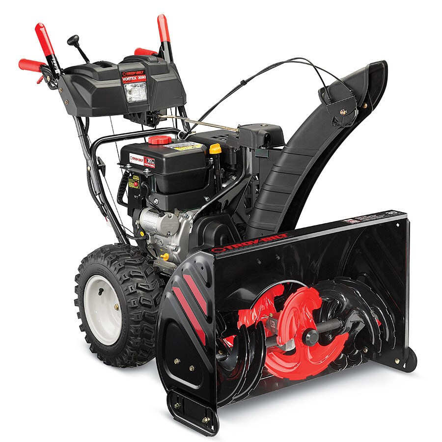 Troy-Bilt XP Vortex 3090 XP 420-cc 30-in Three-Stage Electric Start Gas Snow Blower with Heated Handles and Headlight