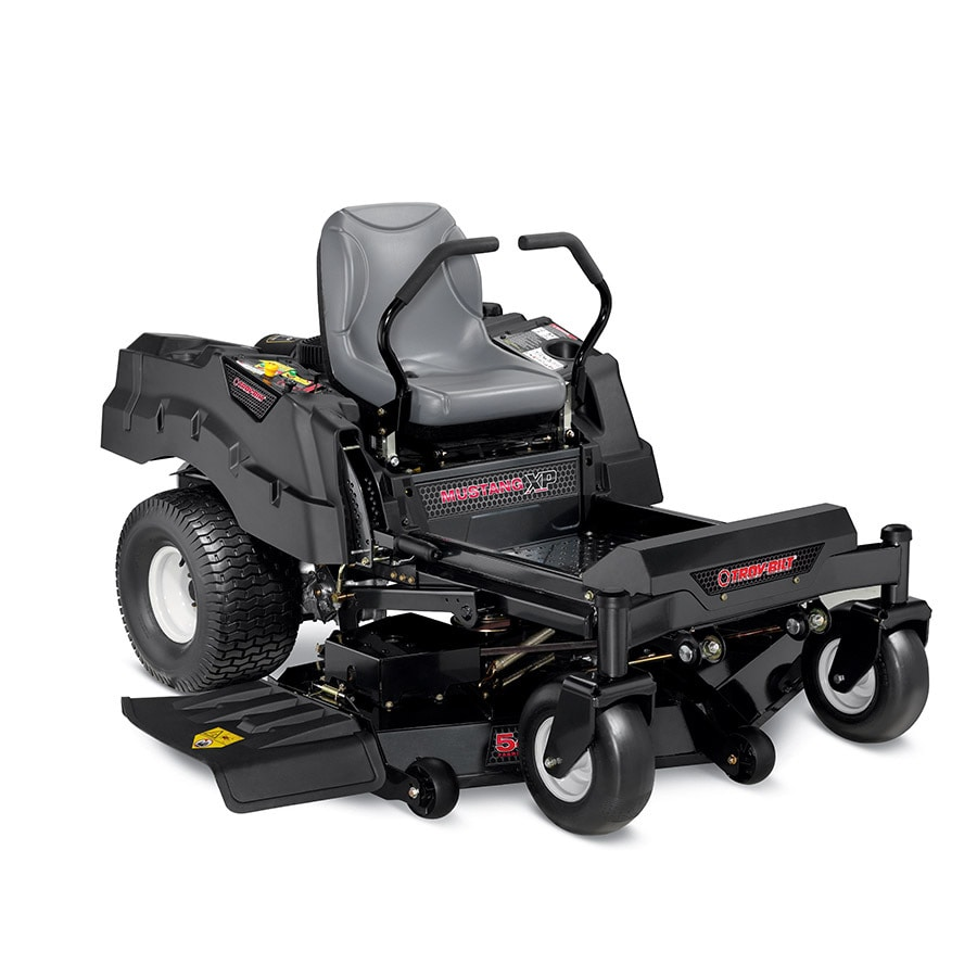 Shop Troy Bilt Xp Mustang 54 Fab Xp 25 Hp V Twin Dual