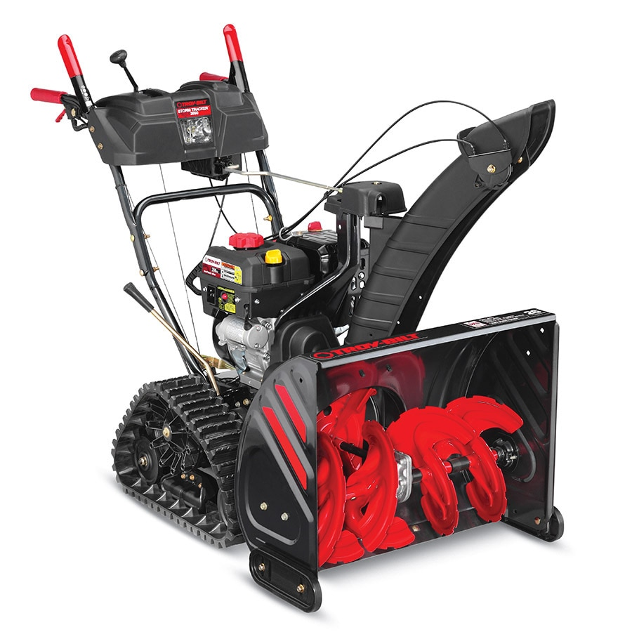 Troy-Bilt Storm Tracker 2690 XP 208-cc 26-in Two-Stage Electric Start Gas Snow Blower with Heated Handles and Headlight