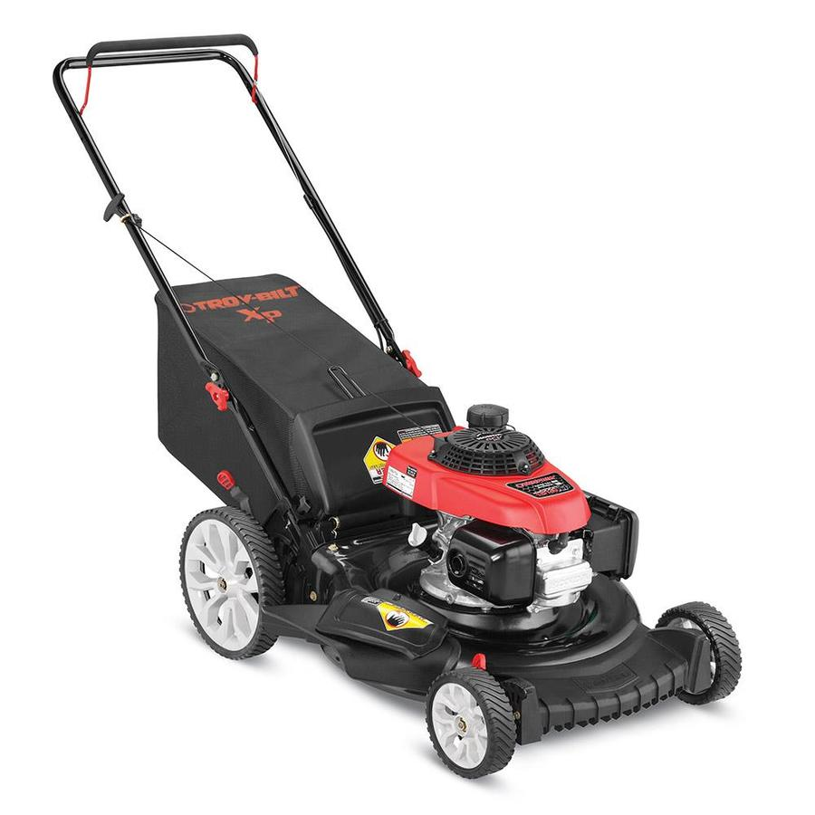 Troy Bilt Tb130 Xp 160 Cc 21 In Gas Push Lawn Mower With Honda Engine In The Gas Push Lawn Mowers Department At Lowes Com