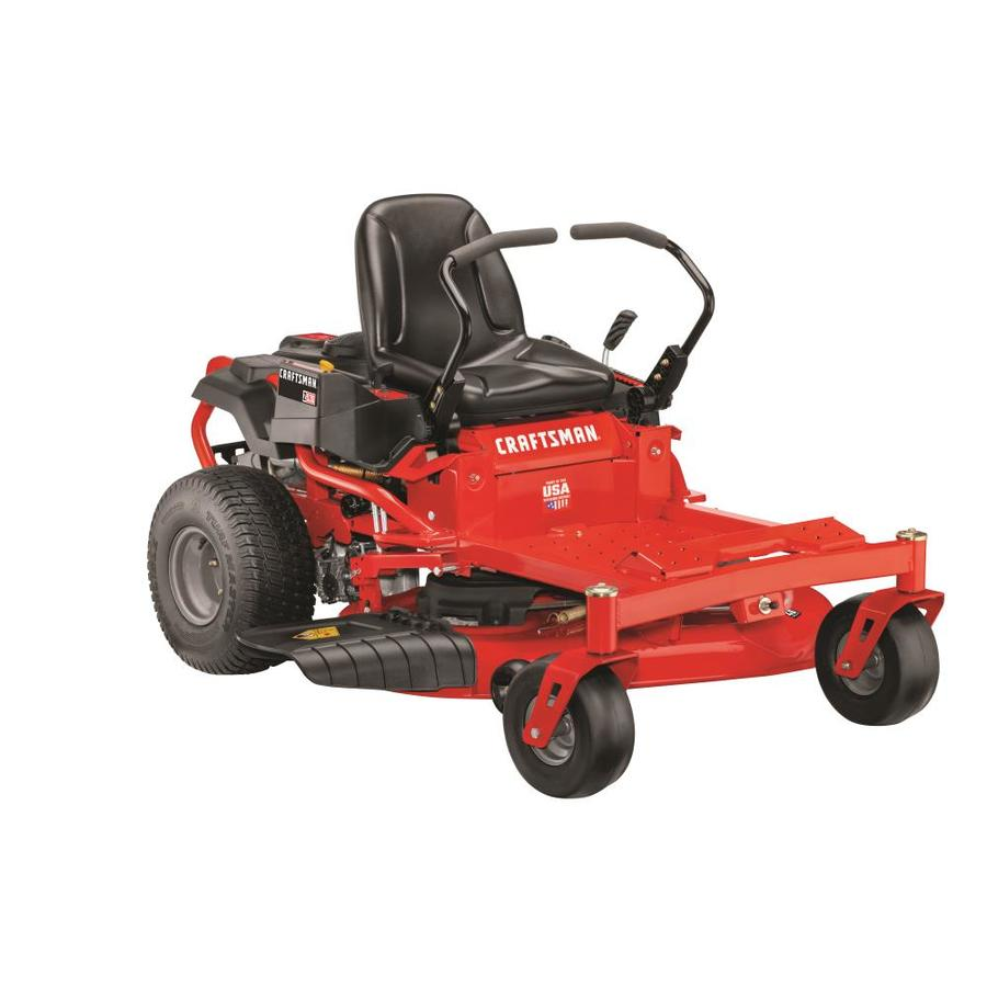 CRAFTSMAN Z530 22-HP V-Twin Dual Hydrostatic 46-in Zero-Turn Lawn Mower  with Mulching Capability (Kit Sold Separately) in the Zero-Turn Riding Lawn  Mowers department at Lowes.com | Woods Mowing Machine 6100 Wiring Digram |  | Lowe's
