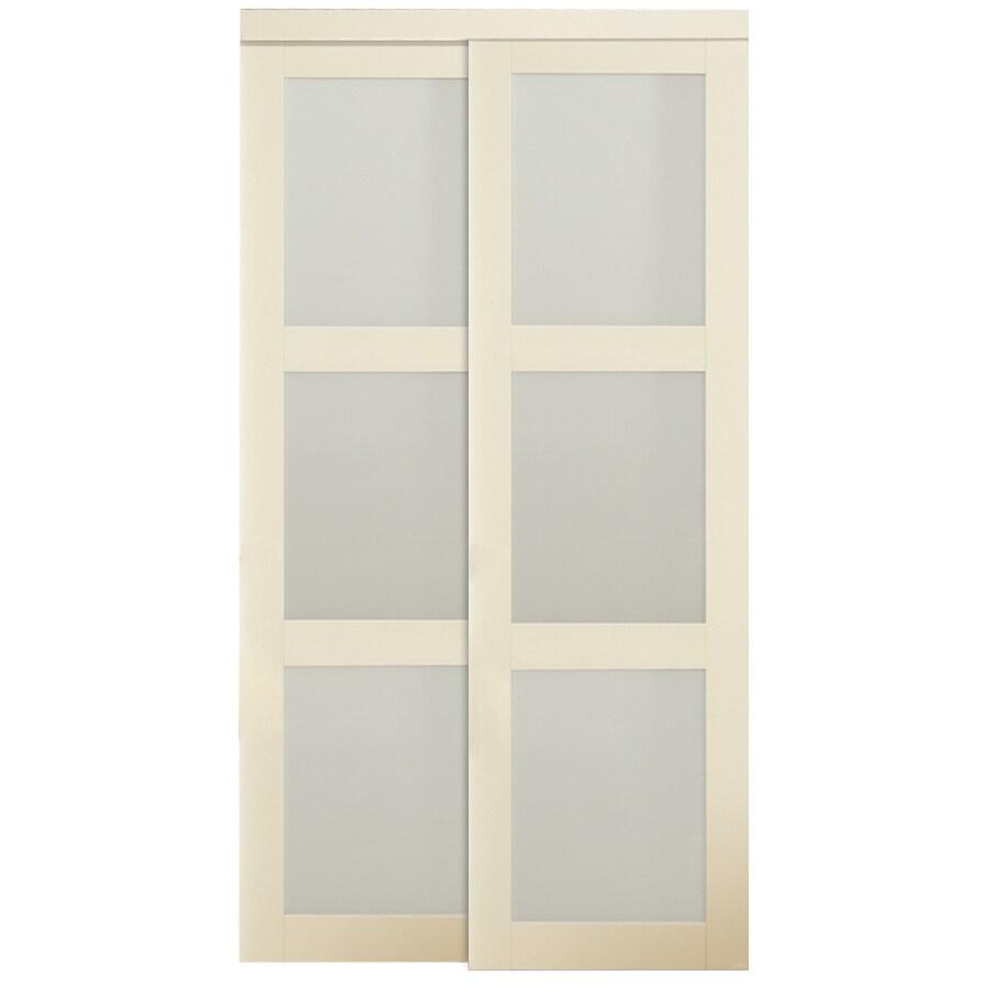 ReliaBilt 3-Lite Sliding Door (Common: 72-in x 80.5-in; Actual: 72-in x 80-in)