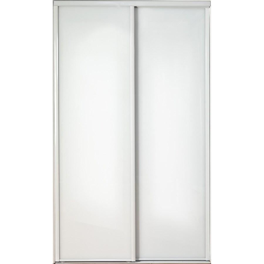 ReliaBilt Flush Sliding Closet Interior Door (Common: 48-in x 80-in; Actual: 48-in x 78-in)