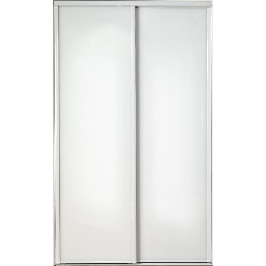 ReliaBilt Flush Sliding Closet Interior Door (Common: 60-in x 80-in; Actual: 60-in x 78-in)