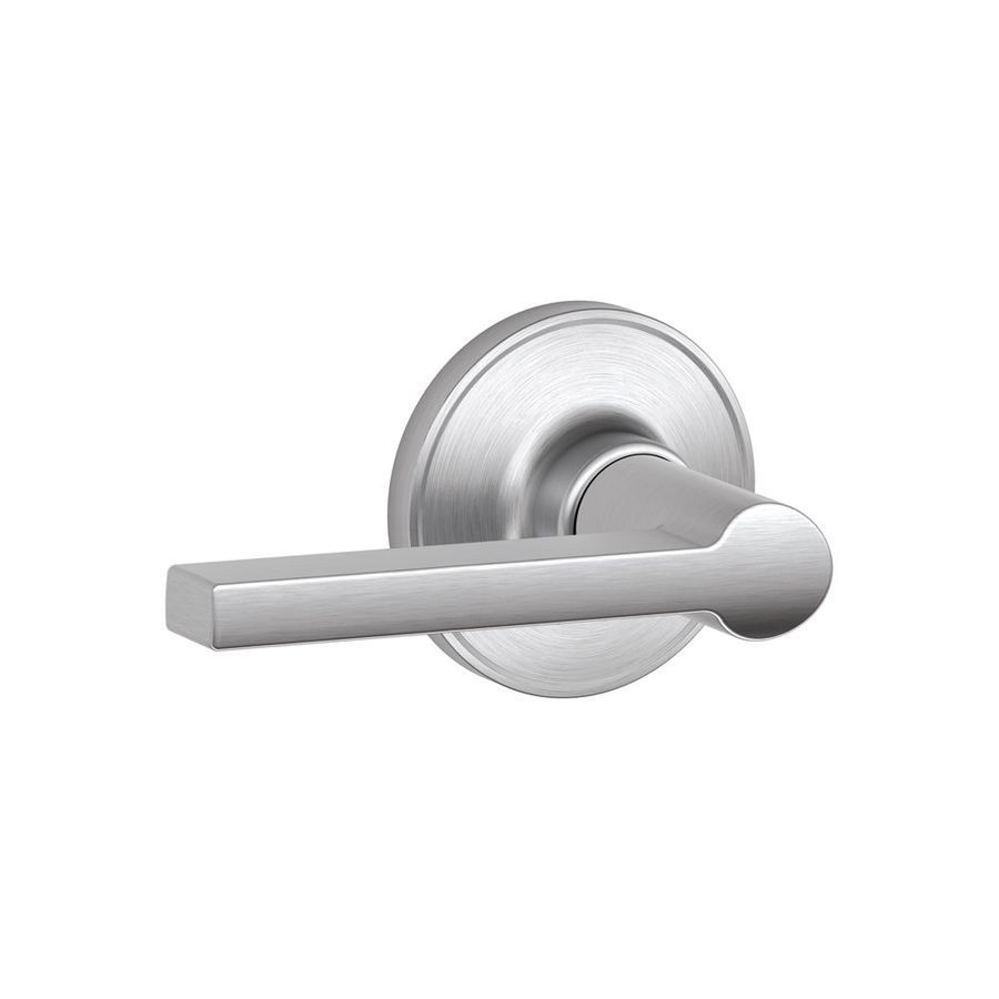 Schlage Solstice Satin Chrome-Handed Passage Door Lever