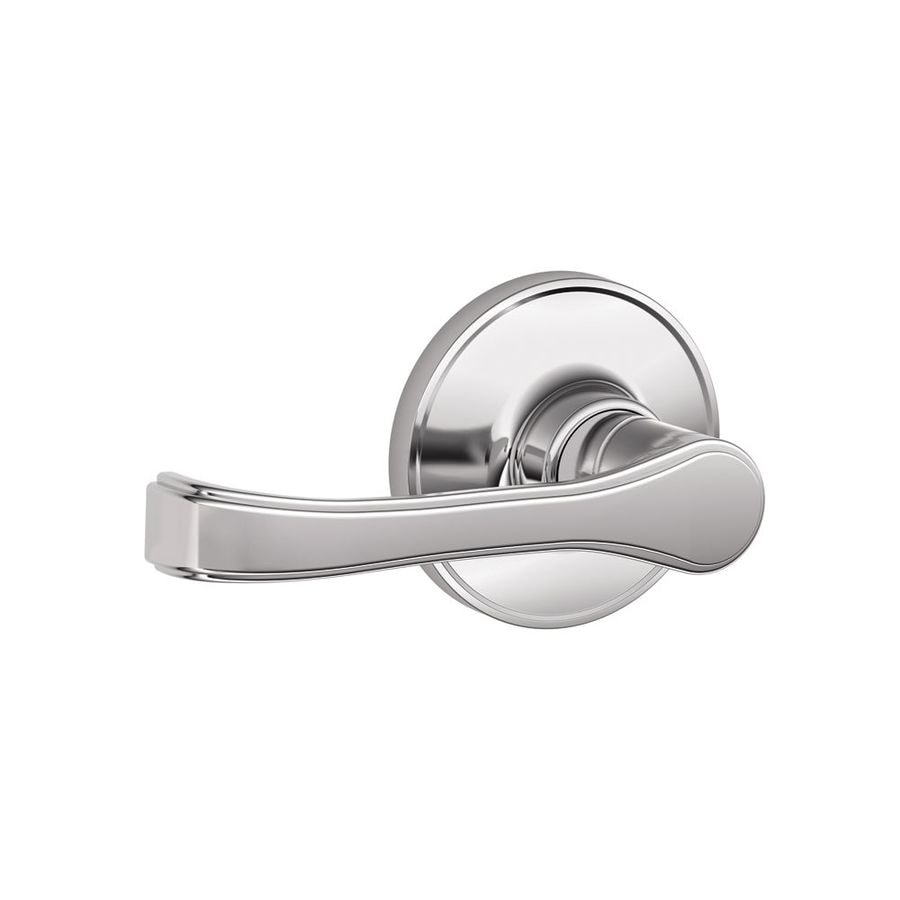 Schlage Torino Bright Chrome-Handed Passage Door Lever