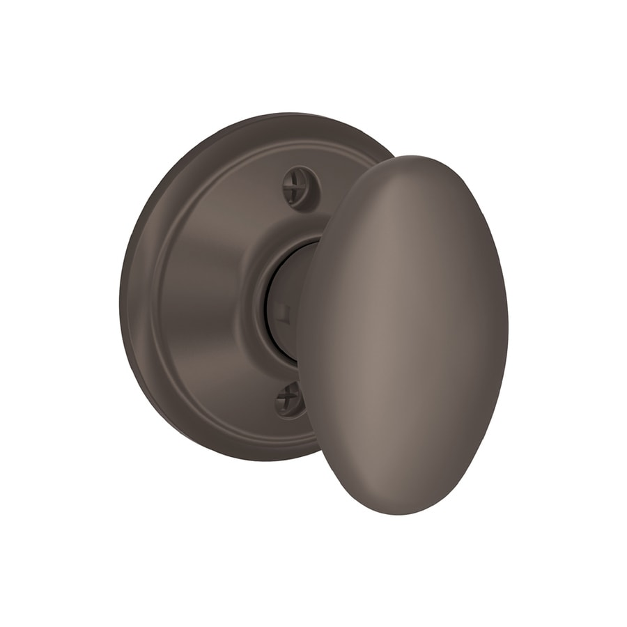 Schlage F Siena Oil-Rubbed Bronze Dummy Door Knob