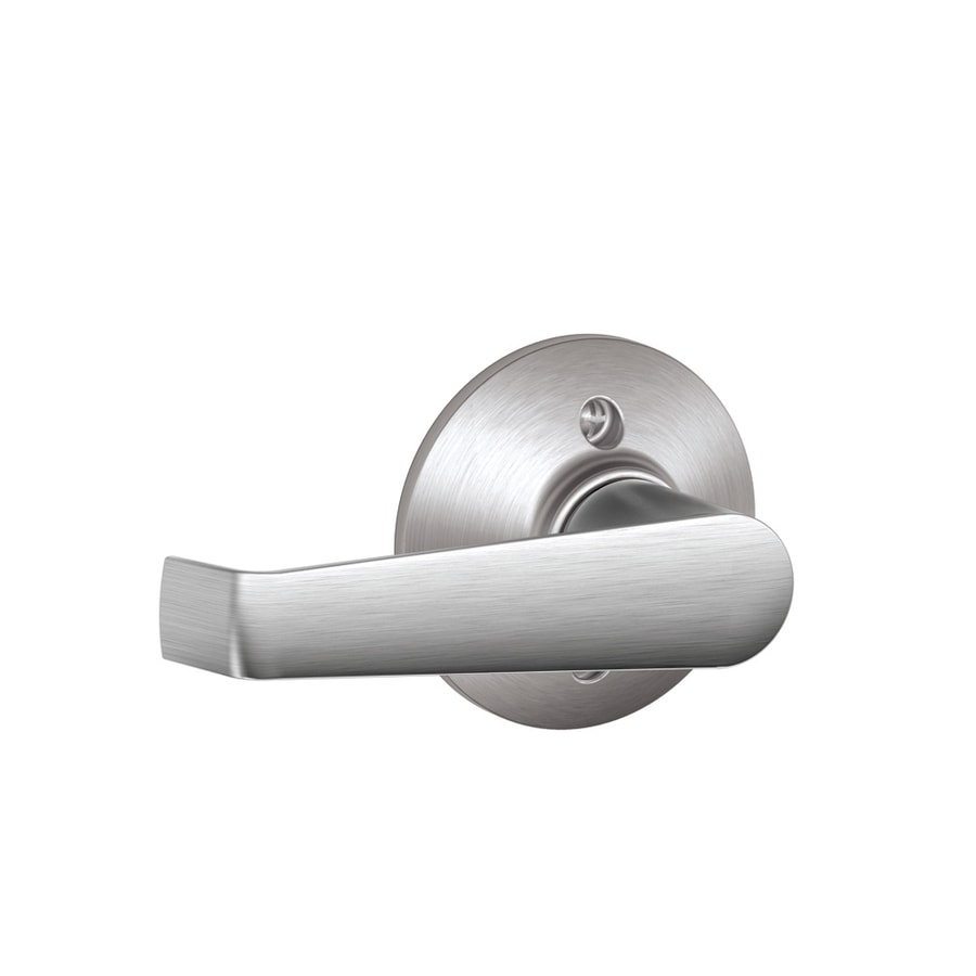 Schlage F Elan Bright Chrome Dummy Door Lever