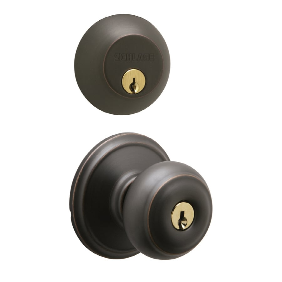 Shop Schlage Keyed Entry Door Knob At Lowes Com